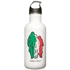 bike italy white Water Bottle