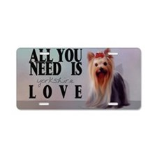 yorki_toiletry_bag Aluminum License Plate