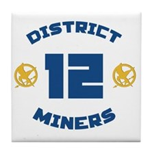 district 12 Tile Coaster
