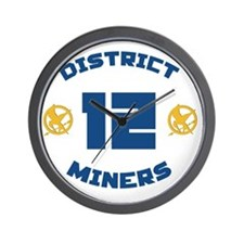 district 12 Wall Clock