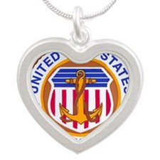 USMM Silver Heart Necklace
