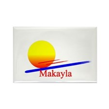 Makayla Rectangle Magnet