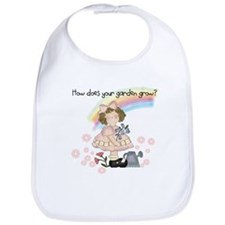 How the Garden Grows Bib