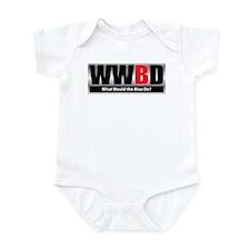 What Blue Infant Bodysuit