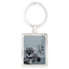 schn_iphone_4_slider_case Portrait Keychain