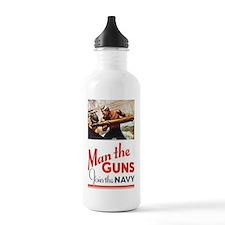 Man the Guns Water Bottle