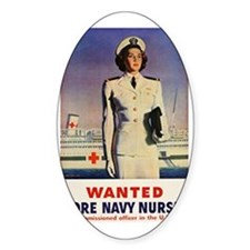 Navy Nurse Decal