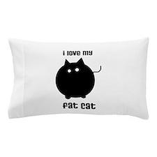 Fat Cat Pillow Case