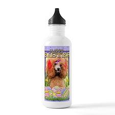 EasterEggCookiesPoodle Water Bottle