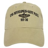 USS MINNEAPOLIS-SAINT PAUL Baseball Cap