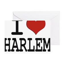 I love Harlem Greeting Card