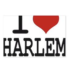 I love Harlem Postcards (Package of 8)