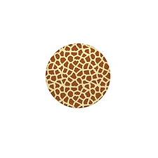 Giraffe Mini Button