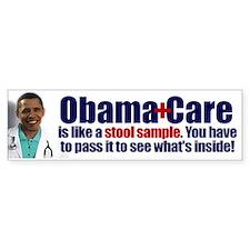Obamacare Stool Sample Bumper Sticker