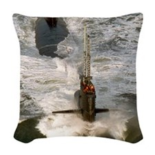 rbrussell framed panel print Woven Throw Pillow