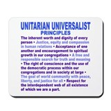 UU PRINCIPLES Mousepad