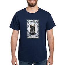Scottish Terrier Designer Dark Colored T-Shirt