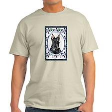 Scottish Terrier Scotty Dog Designer T-Shirt