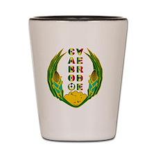 Cabo Verde Emblem Shot Glass