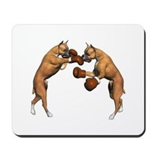 Boxer Dogs Boxing Mousepad