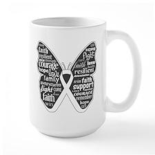 Emphysema Awareness Butterfly Mug