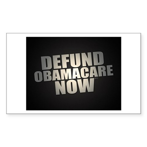 Defund Obamacare Now Decal