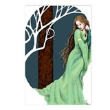 Pale Lady Postcards (Package of 8)