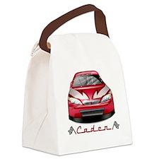 Caden car2 Canvas Lunch Bag