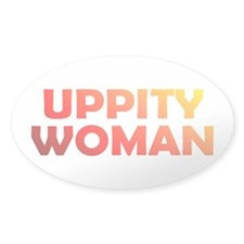 UPPITY Oval Decal