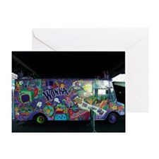 Wonka Truck New York City Greeting Card