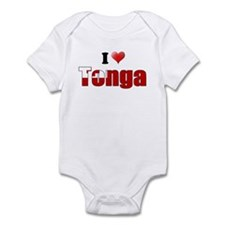 I love Tonga Infant Bodysuit