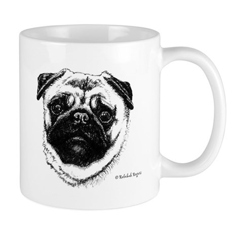Happiness is a Pug Mug