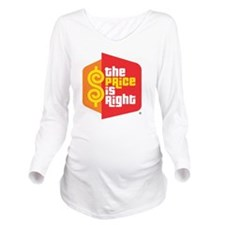 price_is_right_logo Long Sleeve Maternity T-Shirt
