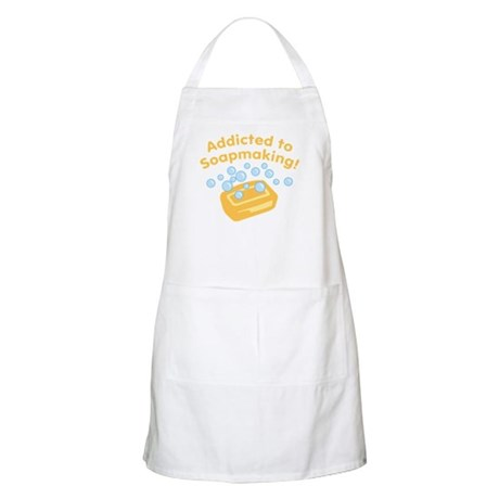 Addicted to Soap Craft BBQ Apron