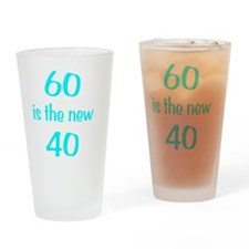 60New40wht Drinking Glass