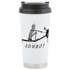 rowbot colored t Ceramic Travel Mug