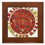 Mexica Tiahui Framed Tile