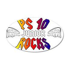 PS10Rocks_JR 35x21 Oval Wall Decal