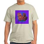 Long Haired Dachshunds Light T-Shirt