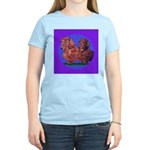 Long Haired Dachshunds Women's Light T-Shirt