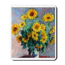 FF Monet Sunflowers Mousepad