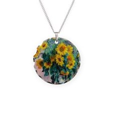 NC Monet Sunflowers Necklace