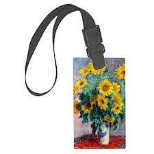 NC Monet Sunflowers Luggage Tag