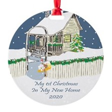 2020 My 1St Christmas Cute Cottage Ornament