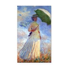 GC Monet 3 Rectangle Car Magnet