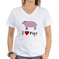 I Love Pigs Shirt