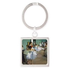 Pillow Degas DanceC Square Keychain