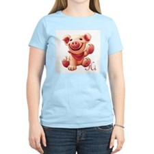 Cute Pig Hi T-Shirt