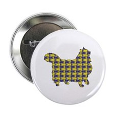 "Wegie Fish 2.25"" Button (10 pack)"