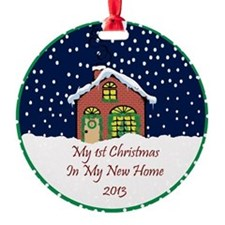 2013 My 1St Christmas Cute Cottage Ornament